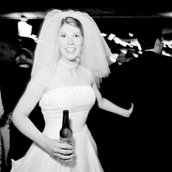 Han er bryllupsfotograf